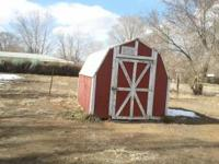 Barn style 8 by 10 ft. storage shed. Buyer is