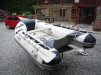 For Sale: 8ft-9in. Aqua Dutch Inflatable boat. In great