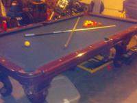 Ft Cannon Pool Table For Sale In Fairmount Indiana Classified - Cannon pool table
