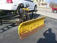 Used Fisher MINUTE Mount Plow , What you See in the