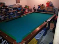for sale is a highline 8ft swimming pool table. Its in