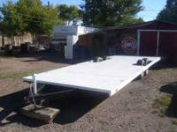 FLATBED TRAILER FOR SALE CAN BE USE TO HAUL