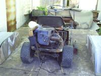 8HP BRIGGS & STRATON MOTOR OFF A RIDING MOWER TURNS