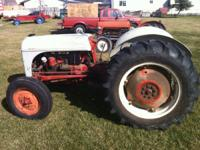8N-Ford, runs good, 3PT, PTO, No Sherman, excellent