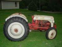 Tractor in good condition, tires excellent, everything