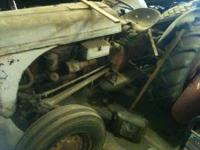 This 8N Ford Tractor belongs to my father, it runs