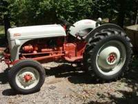 1952 8N Ford Tractor--very clean; runs well,