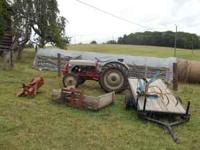 Tractor in good running condition. I have added a