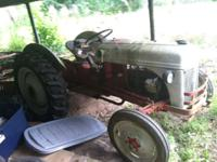 8n Ford Tractor runs good, in good shape and everything