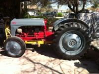 8N FORD TRACTOR, GOOD RUNING TRACTOR. THE 3 POINT AND