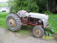WE have a 8n ford tractor for sale. MANY NEW PARTS...