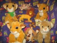This is a Lion King Lot. It includes : 2- 12 inch