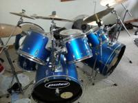 I have a nice Pulse drum set. It's 8 pieces with the
