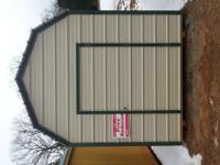 New 8x12 Metal lofted shed, New. Marked down and ready