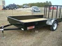 I have a brand new 8x12 finishline utility trailer for