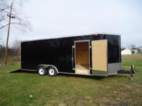 8.5X20 ENCLOSED CAR HAULER *SET UP WITH BEAVERTAIL *4