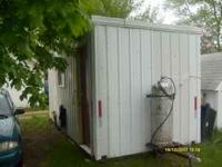 Our lose is your gain, 8X20 fishhouse for sale. Due to