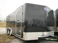 NEW 8X20 FOOT ENCLOSED TRAILER CAR HAULER SPECIAL CASH