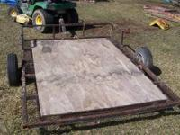 small l 8x5 lawn mower trailer price is 225 firm  call
