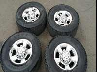 8x6.5 THEY COME OFF A 2005 DODGE 3500315/70/17 LOAD