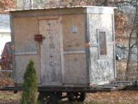 8X6 Fish house fully furnished $1000.00 or BO Call Al: