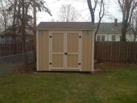 Custom 8x8 Hurricane Shed built to last! All of our