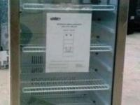 "Brand New 48"" Tall Beverage Merchandiser With Stainless"