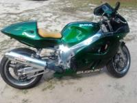 This is great bike. It has candy green paint. The eng