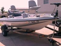 About this 17' 2001 Skeeter SX 170 Bass Boat 2001