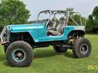 V-6 VORTEC ENGINE, 39.5 CRAWLER TIRES W/MRW BEADLOCKS,