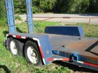 Manufactured by JM Millwood in 1994 this trailer has a