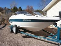 2000 Larson SEI 186 Fish & Ski with a 1998 Fuel & Oil