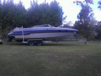1986 Chris Craft Stinger 260. Twin 5.7 350 Chevy
