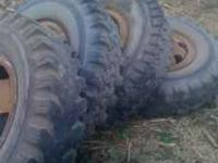 I am selling some 9.00x20 truck tires these came off of