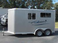 2006 PRE-OWNED FEATHERLITE two HORSE BUMPER PULL