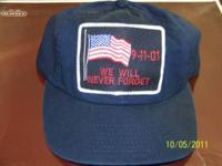For sale a navy 911 baseball type hat that would be a