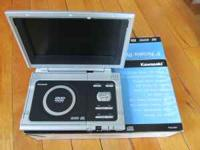"Brand new in box Kawasaki 9"" screen portable dvd player"