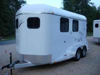 Brand New Trailers USA Brand two Horse Slant Aluminum