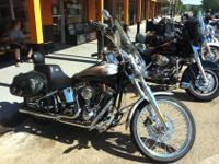 WE ARE SELLING A 2003 HARLEY DAVIDSON DEUCE. THE BIKE
