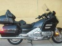 This is a 2009 Honda GoldWing AudioComfortNavi XM ABS