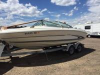 Please call owner Cecilia at  or . Boat is in Parker,