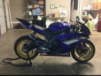 I have a 2012 Yamaha r6, it has 1050 mis on it. It's