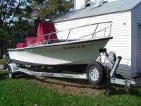 1999 C Hawk 18' with trailer 1999 90 hp 2 stroke
