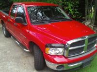 2005 Dodge Ram 1500 SLT Quad-CabBeautiful Bulldog Red