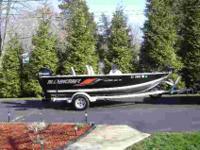 "Beam 82"", 50 H.P, four stroke Mercury Outboard"