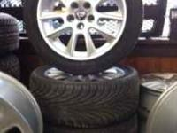 INSURANCE QUALITY 2004 SAAB 9-5 ALLOY WHEELS TIRES
