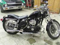 This is 1 nice bike. 1976 Custom Harley Sportster