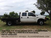 2000 Ford F550 Crew Cab 146,253 miles I personally pick