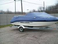 2003 Seadoo Jetboat 185. This has the big 240