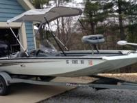 2005 Triton 170 MagnumPremium all welded aluminum bass